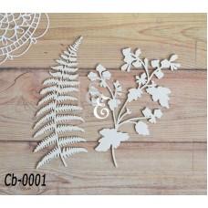 """Чипборд """"Ботаника"""" Cb-0001"""