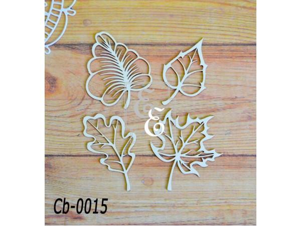 """Чипборд """"Ботаника"""" Cb-0015 для скрапбукинга и декора"""