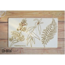 """Чипборд """"Ботаника"""" Cb-0016"""