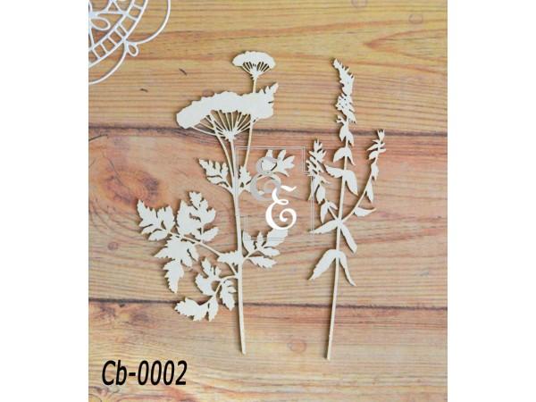 """Чипборд """"Ботаника"""" Cb-0002 для скрапбукинга и декора"""