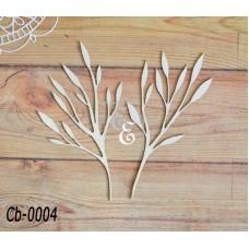 """Чипборд """"Ботаника"""" Cb-0004"""