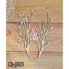 """Чипборд """"Ботаника"""" Cb-0005"""
