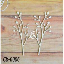 """Чипборд """"Ботаника"""" Cb-0006"""