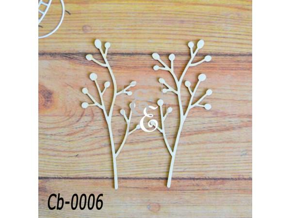 """Чипборд """"Ботаника"""" Cb-0006 для скрапбукинга и декора"""