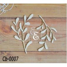 """Чипборд """"Ботаника"""" Cb-0007"""